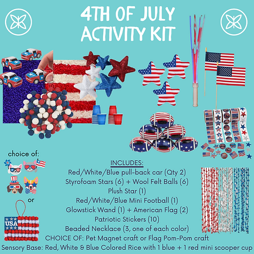 4th of July Activity Kit