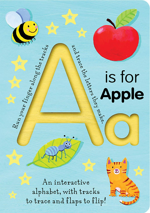 A is for Apple (Smart Kids Trace-And-Flip) by Tiger Tales
