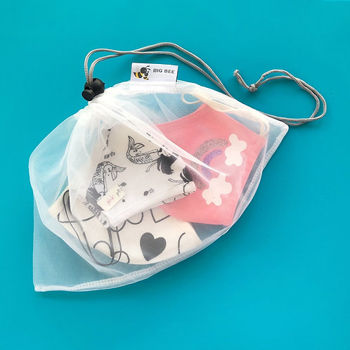 Face Mask Storage & Washing Bag