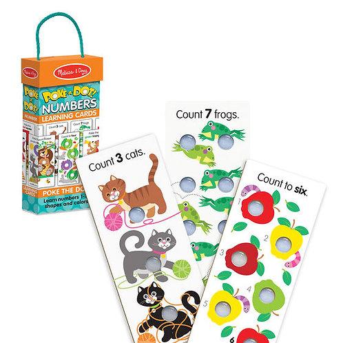 Melissa & Doug: Poke-A-Dot (Numbers Learning Cards)