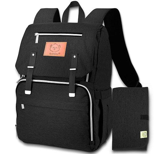 Diaper Bag Backpack - Black