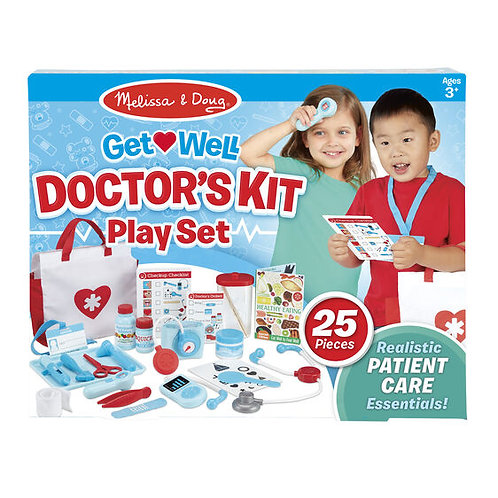 Melissa & Doug: Get Well Doctor's Kit Play Set