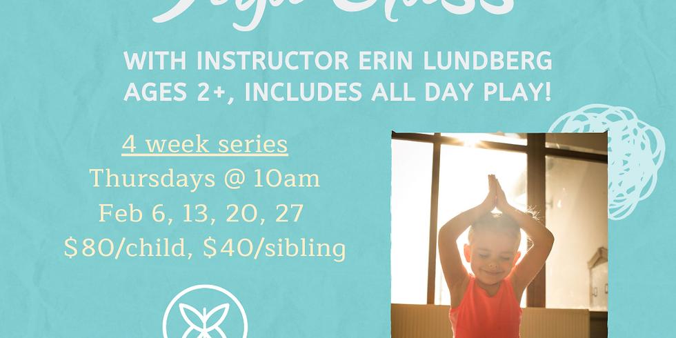 Toddler & Parent Yoga - 4 Week Session
