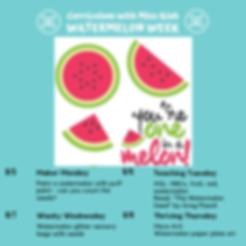 Watermelon Week