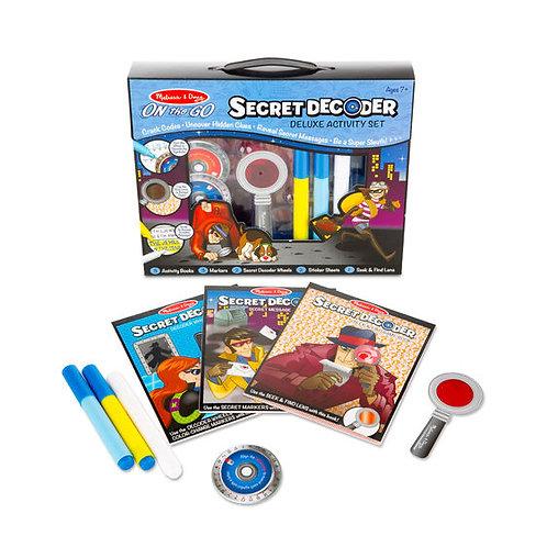 Melissa & Doug: Secret Decoder Deluxe Activity Set