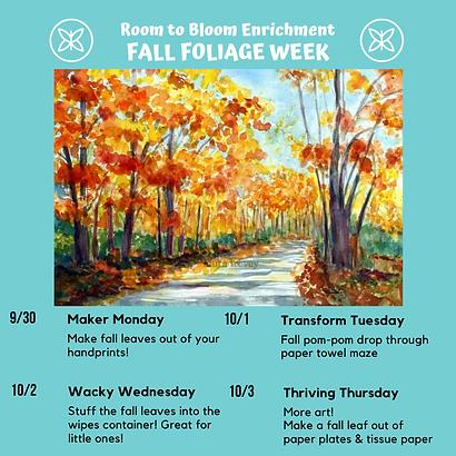Fall Foliage Week