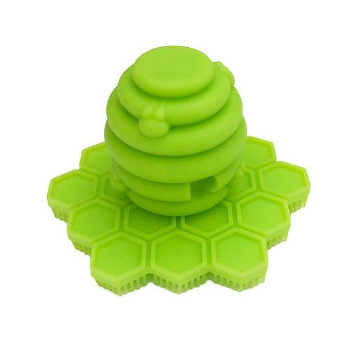 ScrubBEE Silicone Scrubber (Lime)