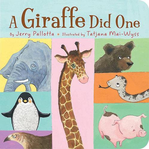 A Giraffe Did One by Jerry Pallotta