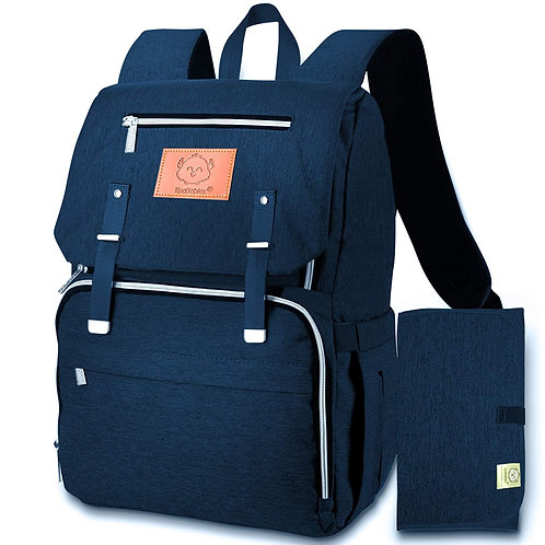 Diaper Bag Backpack - Navy Blue