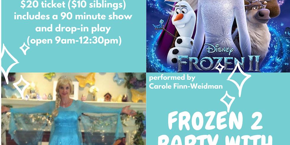 Frozen 2 party with Elsa!