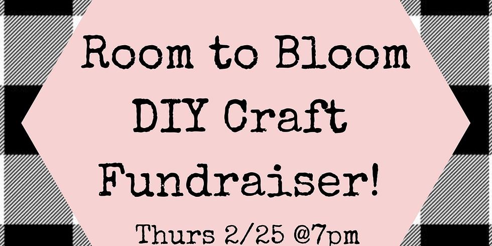 Room To Bloom DIY Craft Virtual Fundraiser