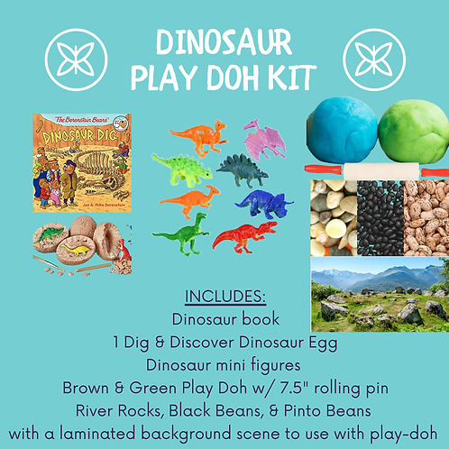Dinosaur Play-Doh