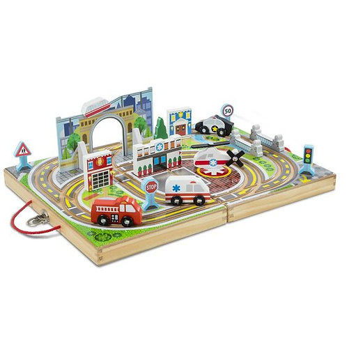 Melissa & Doug: Take-Along Town