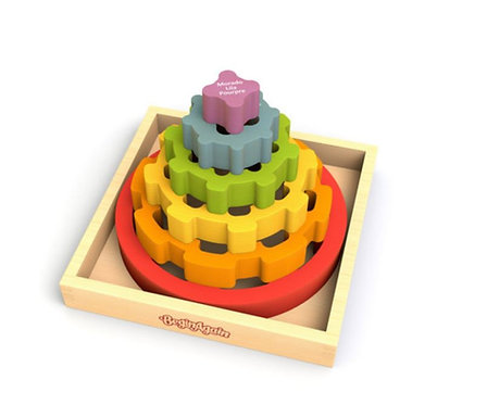 Gear Stacker Toddler Toy