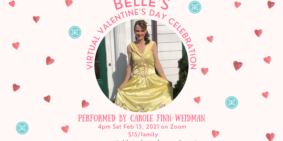 Belle's Virtual Valentine's Day Party