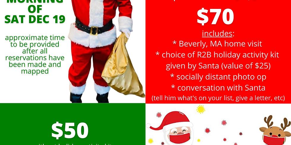 Sat 12/19 - Santa Home Visit