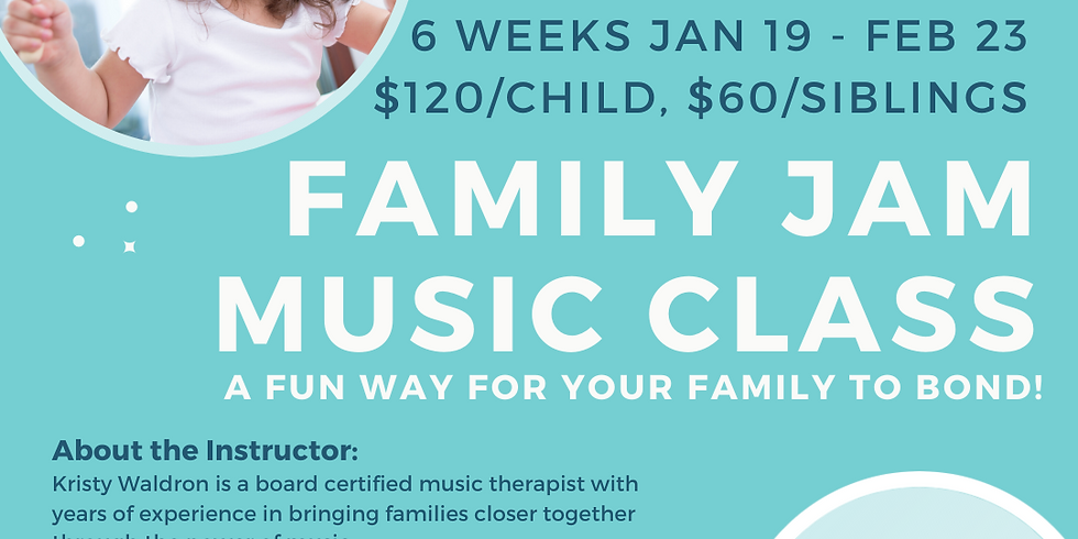 Family Jam Music Class - 6 Week Session (1)