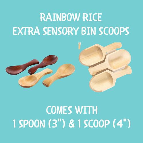 Extra Sensory Bin scoops
