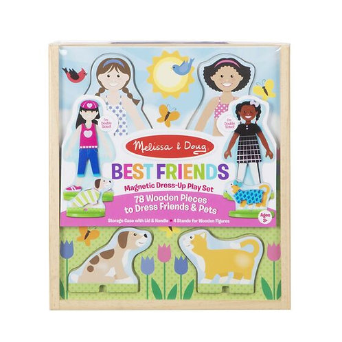Melissa & Doug: Best Friends Magnetic Dress-Up Play Set