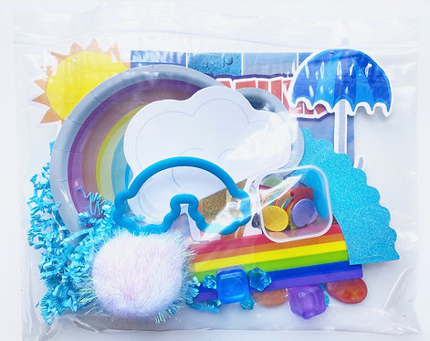 Rainbows & Sunshine - Sensory & Book bag