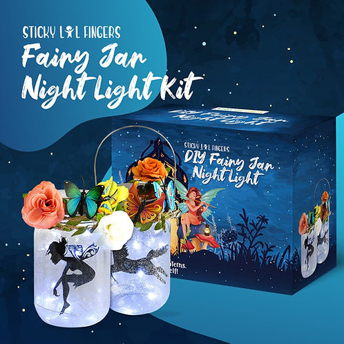 DIY Fairy Jar Night Lights Craft Kit