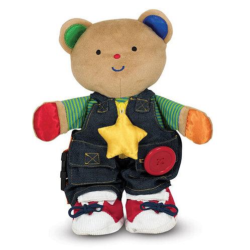 Melissa & Doug: Teddy Wear Toddler Learning Toy