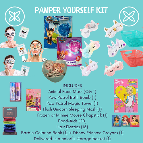 Pamper Yourself Activity Kit