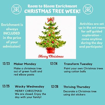 Christmas Tree Week