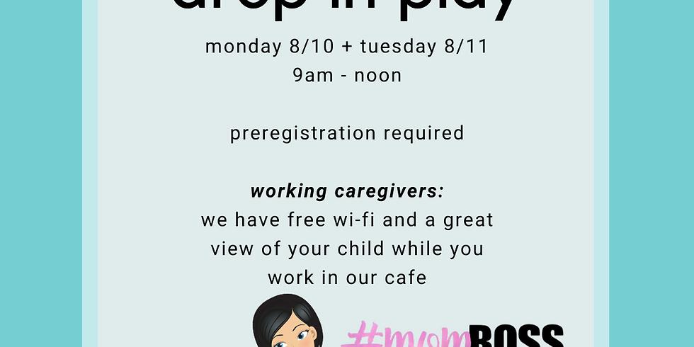 Monday 8/10 9am-Noon