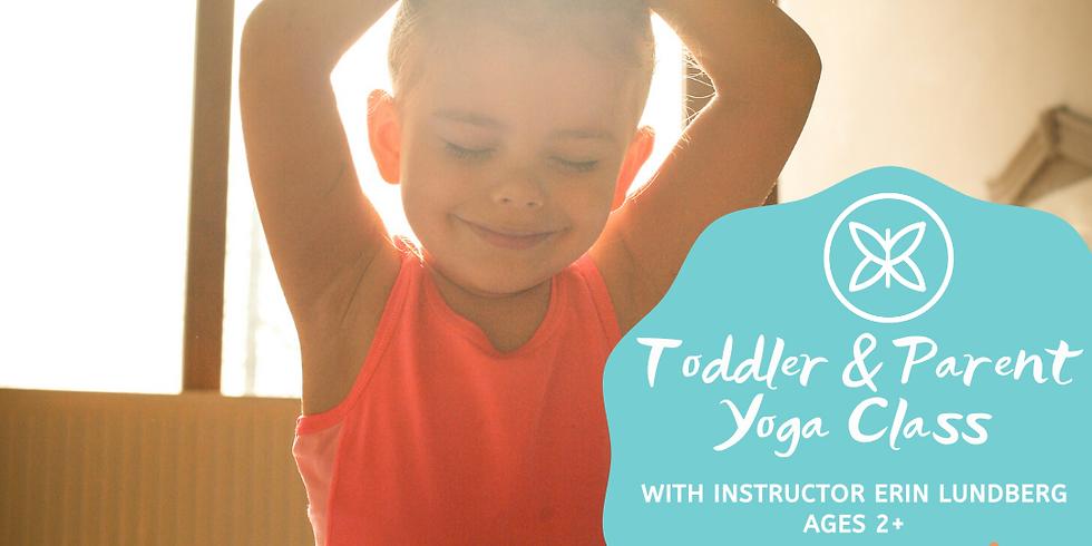 FREE! Toddler & Parent Yoga Demo Class