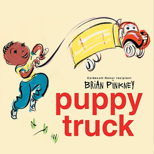 Puppy Truck by Brian Pinkney