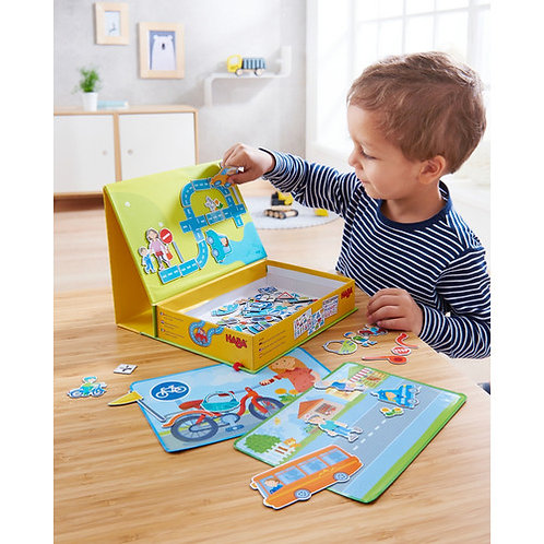 HABA Toys: Magnetic Game Box (Street Sense)