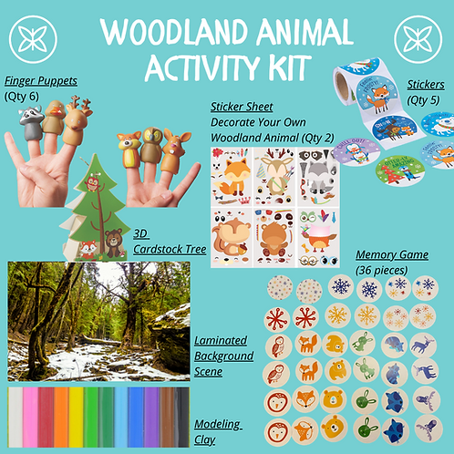 Woodland Animal Activity Kit