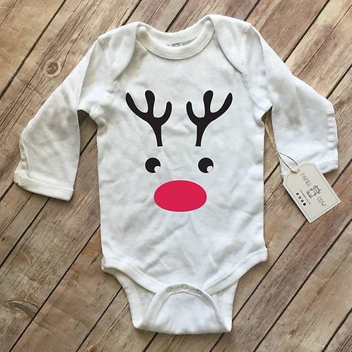 Rudolph the Red Nosed Reindeer - Onesie (size NB-18M)