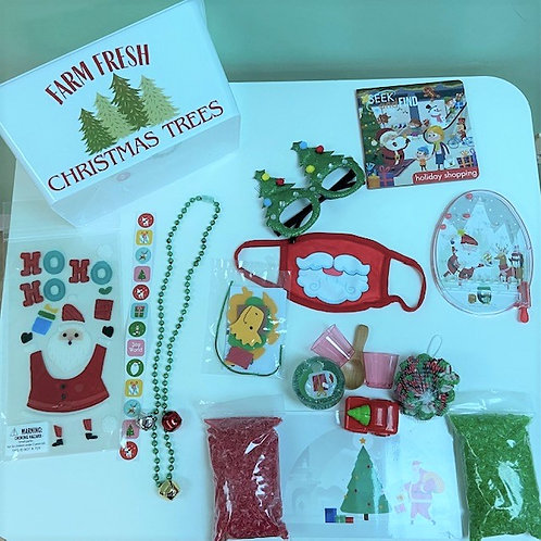 Christmas Trees Activity Kit (child's face mask is sold out)