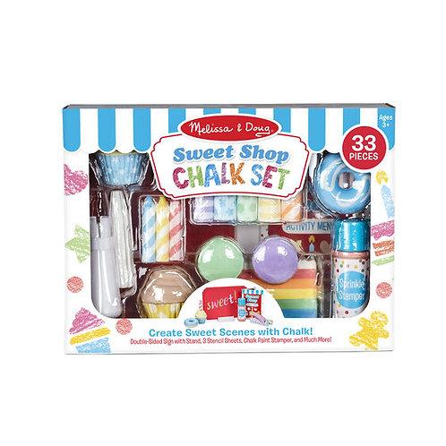Melissa & Doug: Sweet Shop Chalk Set