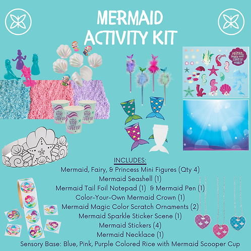 Mermaid Activity Kit