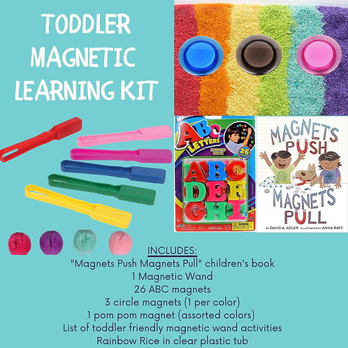 Toddler Magnetic Learning Activity Kit