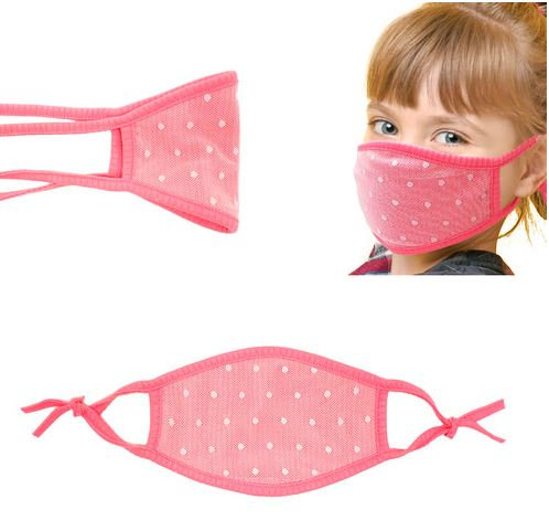 Toddler Mask - Neon Dot (Choice of 3 colors)