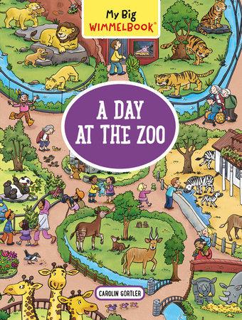 My Big Wimmelbook (A Day At The Zoo)