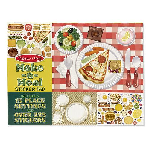 Melissa & Doug: Sticker Pad (Make-A-Meal)