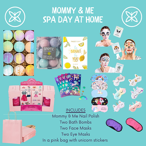 Mommy & Me Spa Day At Home