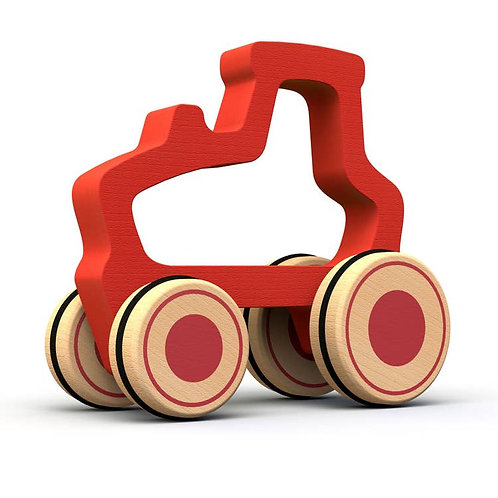 Begin Again Toys: Tractor Push Toy