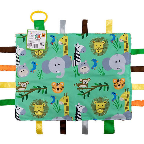 Crinkle Tag Lovey - Blanket (Jungle)