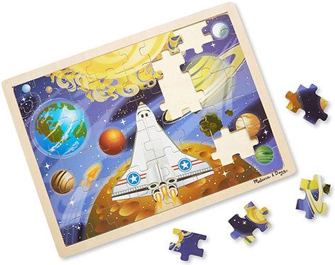 Melissa & Doug: 48pc Wooden Jigsaw Puzzle (Space Voyage)