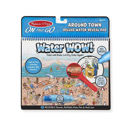 Melissa & Doug: Water Wow Deluxe! Around Town
