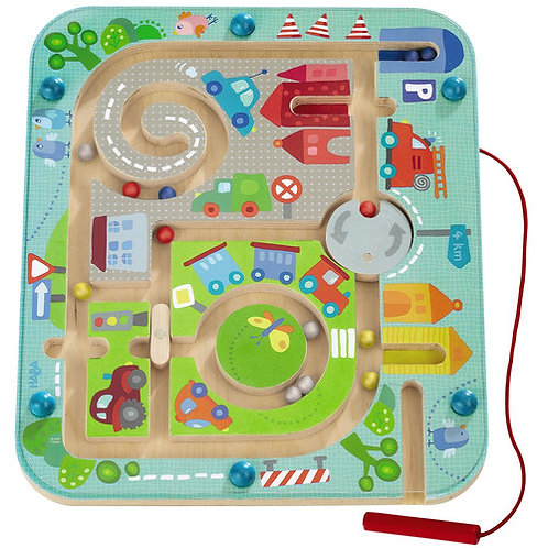 HABA Toys: Magnetic Maze (Town Maze)