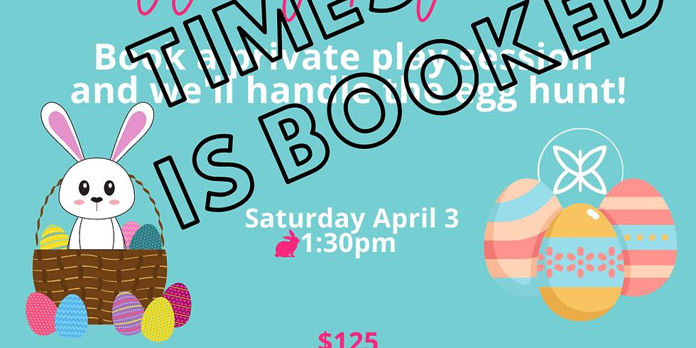 Egg My Playdate! Saturday 4/3 1:30pm