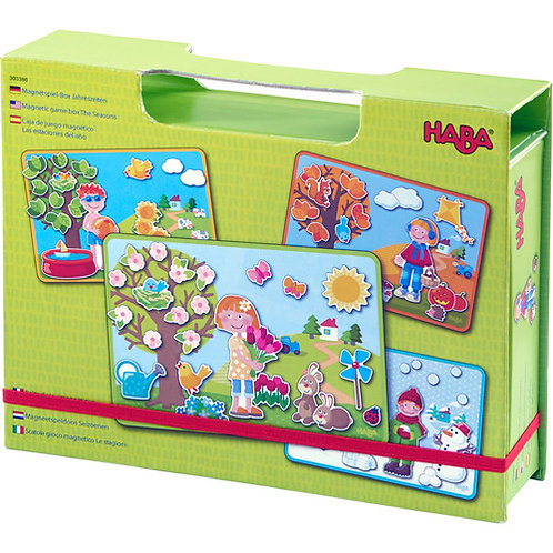 HABA Toys: Magnetic Game Box (The Seasons)