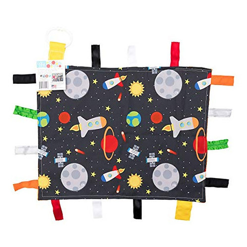 Crinkle Tag Lovey - Blanket (Space)